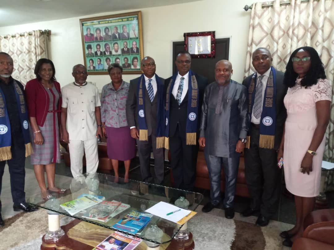 GSSAE Alumni adopts Nse Essien as Patron